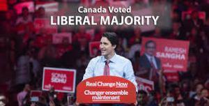 Trudeal Liberal majority