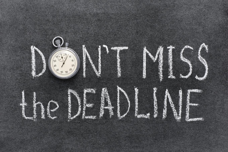 Don't Miss Deadline