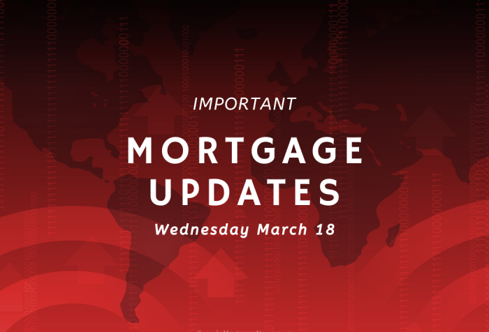 Important Mortgage Updates