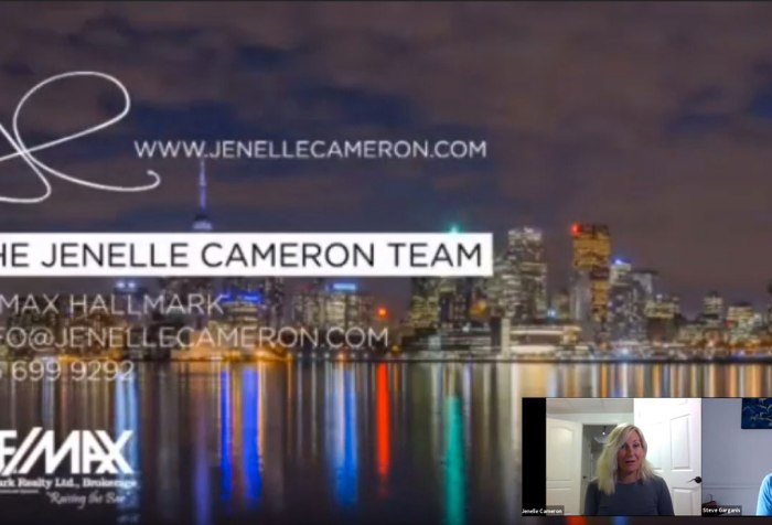 Q and A | Jenelle Cameron of Remax Hallmark In Conversation with Steve Garganis of Mortgage Architects
