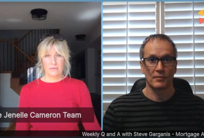 Q and A LIVE with Steve Garganis of Mortgage Architects and Jenelle Cameron or Remax